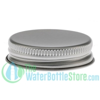 Replacement 38mm Aluminum Metal Cap/Top with Pulp & Poly Liner