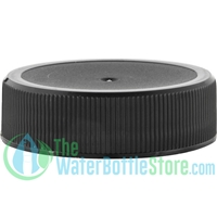 Replacement 38mm Black Plastic Cap/Top with 3-ply Foam Liner