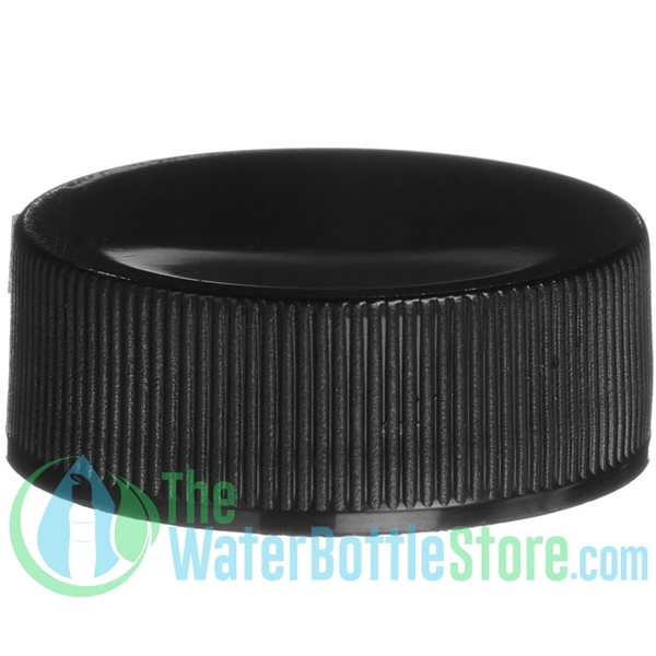 Replacement 28mm Black Ribbed Smooth Top Cap