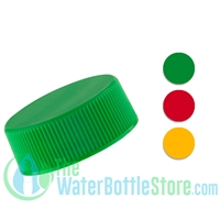 Replacement 28mm Ribbed Plastic Cap with Foam Liner