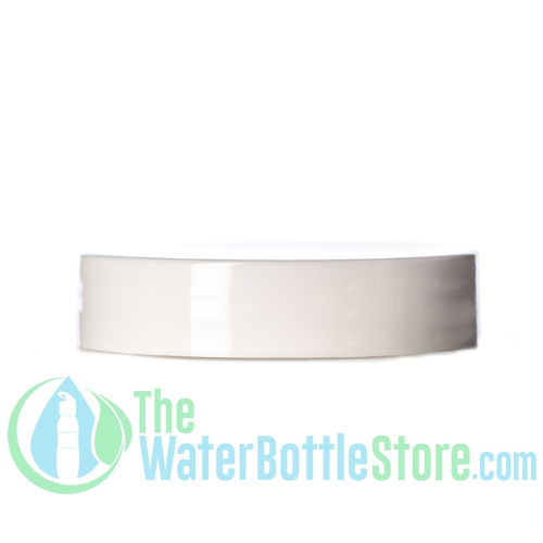 Replacement 48mm White Smooth Plastic Cap/Top