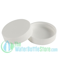 Replacement 43mm White Ribbed Top Cap