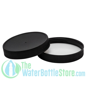 Replacement 63mm Black Plastic Cap Top with F217 Foam Liner
