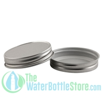 Replacement 70mm Silver Mason Jar Lid with Plastisol Liner