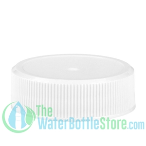 Replacement 33mm White Ribbed Matte Top Cap