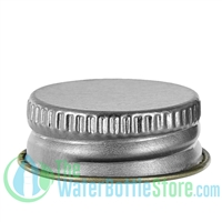Replacement 24mm Silver Aluminum Cap with F217 Liner
