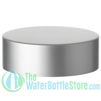 Replacement 58mm Matte Silver Aluminum Plastic Cap