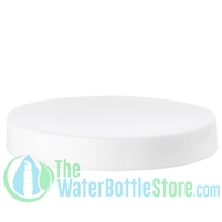 Replacement 100mm White Smooth Plastic Cap/Top