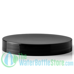 Replacement 100mm Black Smooth Plastic Cap/Top