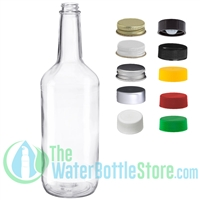 1 Liter Clear Glass Bar Mix Bottle