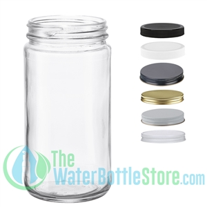 12oz Paragon Clear Glass Jar