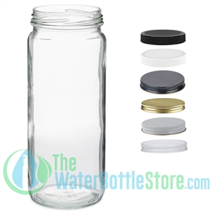 16oz Paragon Clear Glass Jar