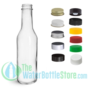 8 oz Woozy Glass Bottle