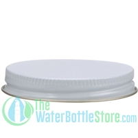 Replacement 58mm White Gold Metal Cap
