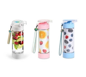 Define Water Bottle 12oz Lite Fruit Infusion Bottle