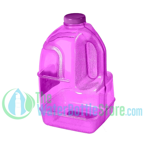 1 Gallon Purple Dairy Jug Water Bottle Handle