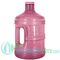 1 Gallon Pink Round Water Bottle Handle