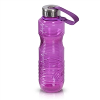 1 Liter 32oz Purple Reusable Water Bottle Steel Top