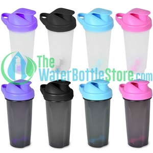 24oz Protein Blender Shaker Plastic Water Bottle