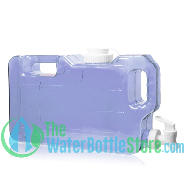 1 Gallon Slimline Refrigerator Water Dispenser Container tap spigot