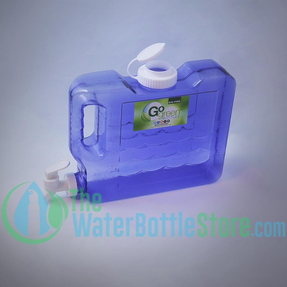 drinking water dispenser faucet. 3 Liter 100oz Slimline Refrigerator Water Dispenser Container tap spigot