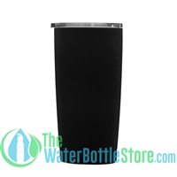Geo 20oz Double Walled Vacuum Insulated Tumbler Black