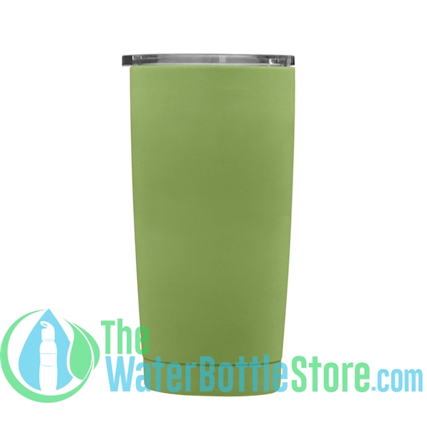 Geo 20oz Double Walled Vacuum Insulated Tumbler Light Green