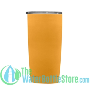 Geo 20oz Double Walled Vacuum Insulated Tumbler Mango