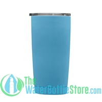 Geo 20oz Double Walled Vacuum Insulated Tumbler Pacific Blue