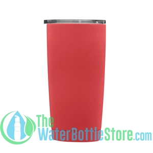 Geo 20oz Double Walled Vacuum Insulated Tumbler Warm Red