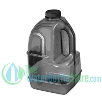 1 Gallon Black Dairy Jug Water Bottle Handle