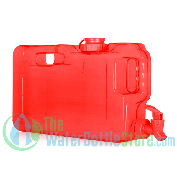1.1 Gallon Red Refrigerator Water Dispenser Container tap spigot