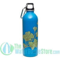 EarthLust 1 Liter Gingko Designer Stainless Steel Water Bottle