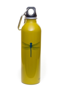 EarthLust 20 oz Dragonfly Stainless Steel Metal Water Bottle