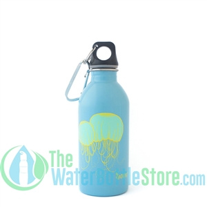 EarthLust 13 oz Jellyfish Stainless Steel Metal Water Bottle