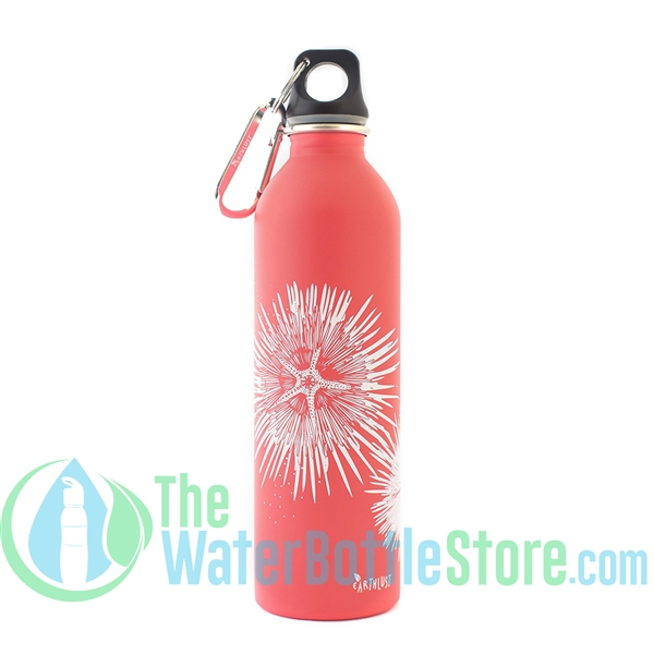 EarthLust 20 oz Sea Urchin Stainless Steel Metal Water Bottle