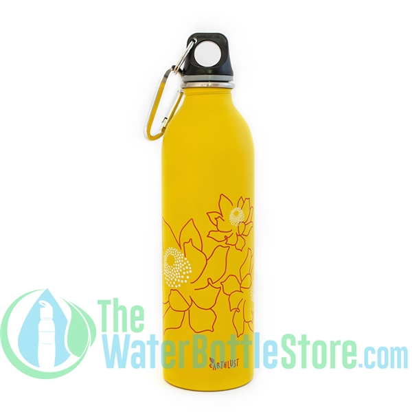 EarthLust 20 oz Protea Stainless Steel Metal Water Bottle