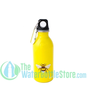 EarthLust 13 oz Bee Stainless Steel Metal Water Bottle