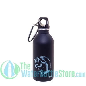 EarthLust 13 oz Squirrel Stainless Steel Metal Water Bottle