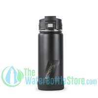 16oz EcoVessel PERK Insulated Tea and Coffee Mug Bottle Black Shadow