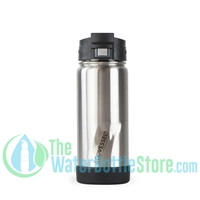 16oz EcoVessel PERK Insulated Tea and Coffee Mug Bottle Silver Express