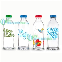 Faucet Face Classic Glass Water Bottle