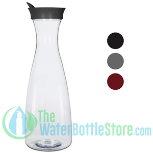 GEO 1.5 Liter BPA-Free Carafe Water Bottle with 82mm Screw Cap