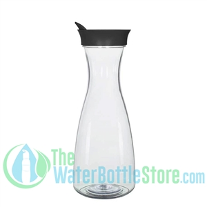 GEO 1 Liter BPA-Free Carafe with Black 82mm Screw Cap