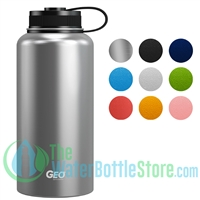 GEO 32oz Double Wall Insulated Vacuum Growler Flask