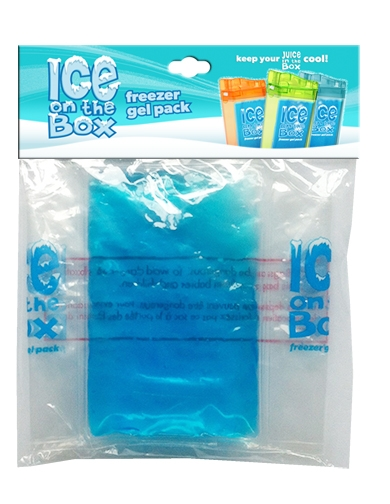 Ice on the Box Freezable Ice Pack for Juice in the Box