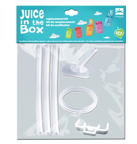 Juice in the Box Replacement Kit Straws and Spout