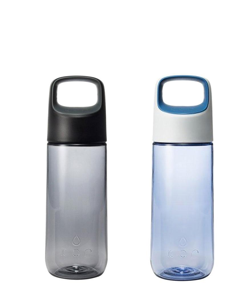 Kor Water Delta Black 500ml Hydration Vessel Tritan Water Bottle Brand New