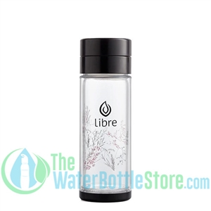 Libre 9 oz MatchaGo Shaker Glass Infuser Bottle