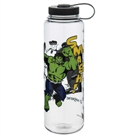 Nalgene 48 Ounce Wide Mouth Water Bottle Silo Marvel Hulk